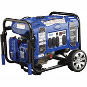 Ford FG11050PE, 11050 Watt Generator, Gas Engine, Recoil/Electric Start. Battery Included