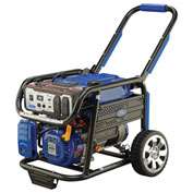 Ford FG4650,4650 Watt Contractor Grade Generator, Gas Engine, Recoil/Electric Start, Battery Incl.