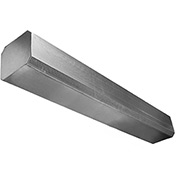 """Powered Aire® Customer Entry Air Curtain, 96""""W Door, 120V, Unheated, 1 PH, Stainless Steel"""