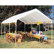 "King Canopy Universal™ Canopy C81020PC, 20'L x 10' 8""W, White"