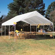 "King Canopy Hercules™ Canopy HC1820PC, 20'L X 17' 9""W, White"