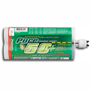 Pure50+ Epoxy Injection Adhesive Anchoring System - 21 Oz. Cartridge - Powers 8605