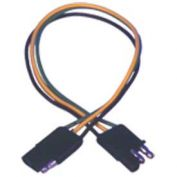 "Quick Cable 235101-001 12"" Trailer Wiring, 4 Pole M/F, 1 Pc"