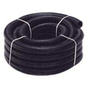 "Quick Cable 505210-100 Black Polythnene Split Loom, 2"" I.D., 100 Ft"