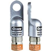 Quick Cable 5820-050F Heavy Duty Walled Lug, 2/0 Gauge, 50 Pcs