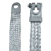 "Quick Cable 7003-2001 13"" Straight Clamp-To-Lug, 4 Gauge,"