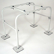 "Quick-Sling QSMS2401 Mini Split Stand, 24""H Fixed Stand - Wide"