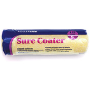 "RollerLite 9"" x 1/2"" High-Density Polyester Fabric Roller Cover, 24/Case - 9SC050"