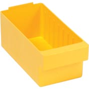 "Quantum Super Tuff Euro Drawer QED601 - 5-9/16""W X 11-5/8""D X 4-5/8""H Yellow - Pkg Qty 24"
