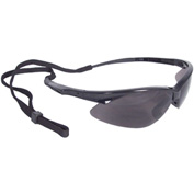 Radians® AP1-20 Rad-Apocalypse™ Half Frame Safety Glasses, Smoke Lens, Black Frame - Pkg Qty 12