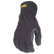 DeWalt® DPG740L Fleece Work Glove Palm Overlay L