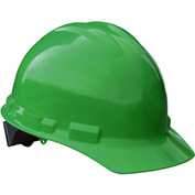 Radians® GHP4 Granite™ Cap Style Hard Hat, 4-Point Pinlock Suspension, Green
