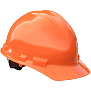 Radians® GHP4 Granite™ Cap Style Hard Hat, 4-Point Pinlock Suspension, Orange