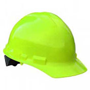 Radians GHP6 Granite™ Cap Style Hard Hat, 6 Point Pinlock, Hi-Viz Green