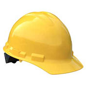 Radians GHR4 Granite™ Cap Style Hard Hat, 4 Point Ratchet, Yellow