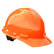 Radians GHR6 Granite™ Cap Style Hard Hat, 6 Point Ratchet, Hi-Viz Orange