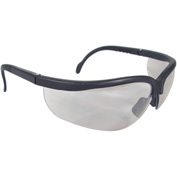 Radians® JR0191ID Journey™ Half Frame Safety Glasses, I/O Anti-Fog Lens, Black Frame - Pkg Qty 12