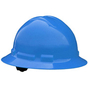 Radians® QHP4 Quartz™ Full Brim Hard Hat, 4-Point Pinlock Suspension, Gray