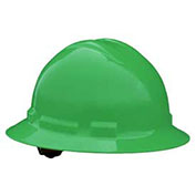 Radians QHP6 Quartz™ Full Brim Hard Hat, 6 Point Pinlock, Green