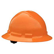 Radians QHR4 Quartz™ Full Brim Hard Hat, 4 Point Ratchet, Orange