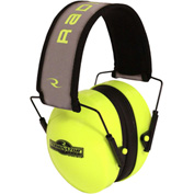 Radians® TR0HVG-BX Terminator™ Folding Ear Muff, High-Vis Lime