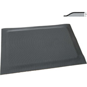 "Rhino Mat 5/8"" Thick Dual Purpose Class 2 Corrugated Anti-Fatigue Mat 17000 Vac, 2' x 3' Blk-DP-2436"