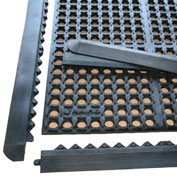 "Rhino Mats K-Series 1/2"" Thick Anti-Fatigue Drain-Thru Mat, 3' x 4' Black - K4-3648BKIT"