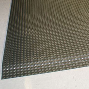 "Rhino Mats Reflex 1"" Thick Raised Domed Interactive Surface Anti-Fatigue Mat, 3' x 5' Metallic"