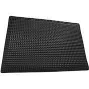 "Rhino Mat 1"" Thick Conductive Reflex Anti-Fatigue Mat, 3' x 5' Black - RLXC-3660DS"