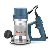 BOSCH® 2.25 HP Fixed Base Electronic D-Handle Router