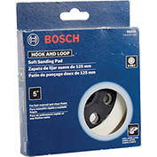 "BOSCH™ RS031 5"" Soft Sander Backing Pad W/ Hook & Loop Attachment"