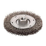 """BOSCH® WB559 - 4"""" Wire Wheel - Stringer Bead Knotted - Carbon Steel - 5/8""""-11 Arbor"""