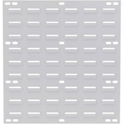 "Akro-Mils Steel Louvered Panel 30618TEXWHT - 19""W x 18""H Textured White - Pkg Qty 4"