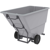 Akro-Mils® 77410F Medium Duty 1 Cu. Yd. Tilt Truck with Fork Pockets 600 Lb.