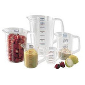 Rubbermaid Commercial Fg321000 Clr Bouncer® Measuring Cups - 1 Cup - Pkg Qty 12