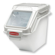 Rubbermaid Commercial FG9G5700WHT ProSave Storage Ingredient Bin, 100 Cup Capacity