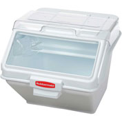 Rubbermaid Commercial FG9G5800WHT - ProSave™ Storage Ingredient Bin. 200 Cup Capacity