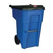 Rubbermaid Brute® 95 Gallon Rollout Container - FG9W2273BLUE