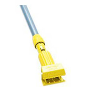 "Rubbermaid® 60"" Gripper Vinyl-Covered Aluminum Clamp Wet-Mop Handle, Yellow - RCPH236 - Pkg Qty 12"