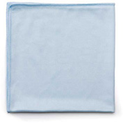 "Rubbermaid® Microfiber Cleaning Cloths 16"" x 16"", Blue 12/Case - RCPQ630"
