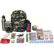 Ready America® 70205 Essentials Outdoor Survival Kit, 2-Person