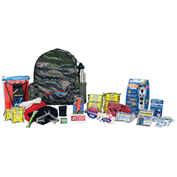 Ready America® 70215 Deluxe Outdoor Survival Kit, 2-Person