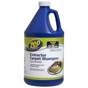 Zep Commercial Extractor Carpet Shampoo Concentrate - Gallon Bottle, 4 Bottles/Case - 1041690