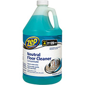 Zep Commercial Neutral Floor Cleaner Concentrate - Gallon Bottle, 4 Bottles/Case - 1041696