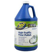 Zep Commercial High-Traffic Floor Polish - Gallon Bottle, 4 Bottles/Case - 1044999