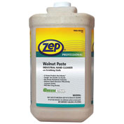 Zep Professional Walnut Paste Industrial Hand Cleaner W/ Scrubbing Shells - 4 Gal. Bottles - 1046476
