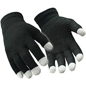Touch Screen Glove, Silver - L/XL - Pkg Qty 12
