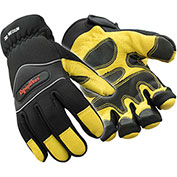 Lined High Dexterity Glove, Gold & Black - Large