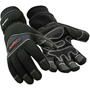 Insulated High Dexterity Glove, Black - Large
