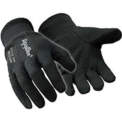 Insulated Jersey Glove, Black - Large - Pkg Qty 12